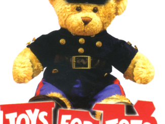 Toys For Tots-Bear_Train