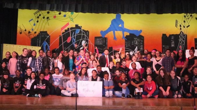 Middle School Showcases 'Fame'